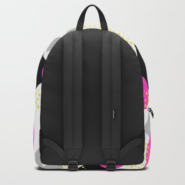 Summer Pop Geometry Backpack