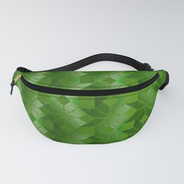Evergreen, Snowflakes #32 Fanny Pack