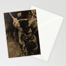 Dancer (Black & White) Stationery Cards