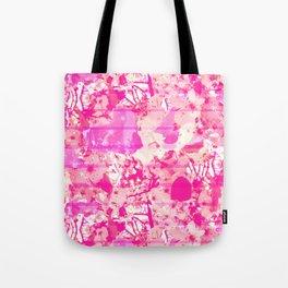 Cherry Bomb Stripe Tote Bag