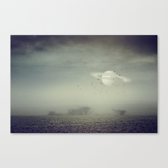 in my other world Canvas Print