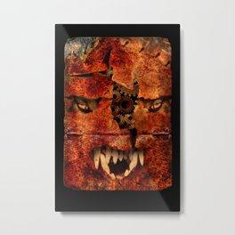 Steve Bannon: POTUS Trump's Street Fighter. Metal Print