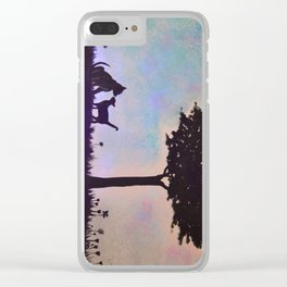 Animal Friendship <3 Clear iPhone Case
