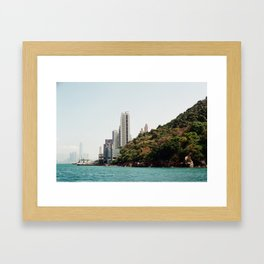 Hong Kong Syline  Framed Art Print