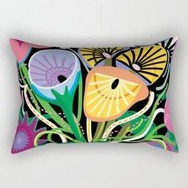 Dripping Gardens Rectangular Pillow
