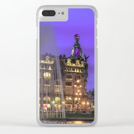 White Nights in Saint Petersburg Clear iPhone Case