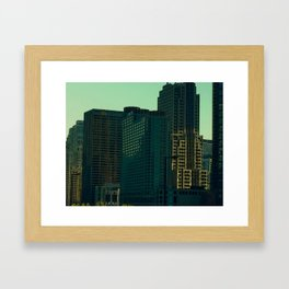 How the Sun Hits #10 Framed Art Print