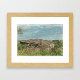 Rural Decay Framed Art Print