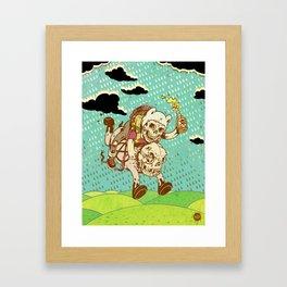 Anarchy Time Framed Art Print