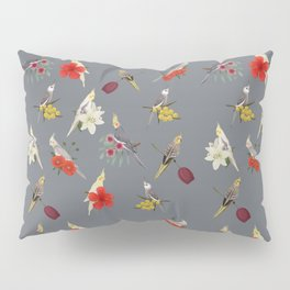 Cockatiels Galore Pillow Sham