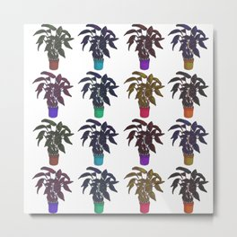 Amazonic Plant Metal Print