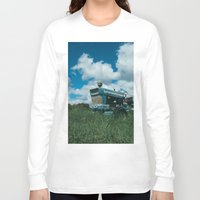 ford Long Sleeve T-shirts featuring Ford Tractor by OctaviusEst