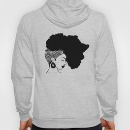 Fro African W&B Hoody