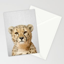 Cheetah - Colorful Stationery Cards