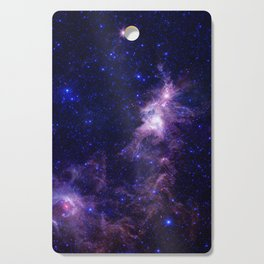 gAlAXY Purple Blue Cutting Board