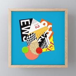 Floor 2 Framed Mini Art Print