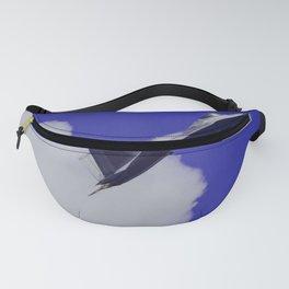 Ascend 2020 - Jet Design - Purple - Clouds - Pilot Fanny Pack