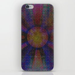 Surya Invocation (Sun) - Magick Square Yantra Tantra iPhone Skin