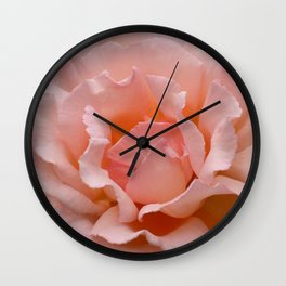 Cottage Rose Wall Clock