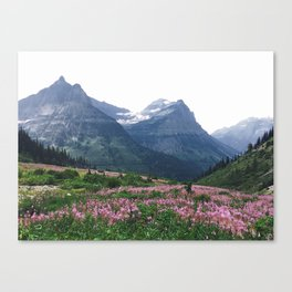 Glacier National Park Canvas Print