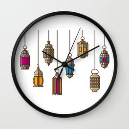 Ramadan Nights Wall Clock