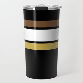 Team Colors 2... caramel, brown Travel Mug