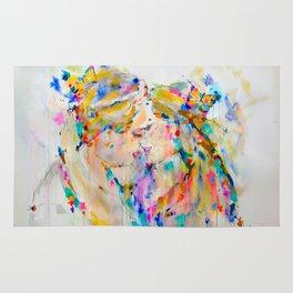 Kissing Couple Rug