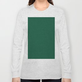 Simply Forest Green Long Sleeve T-shirt
