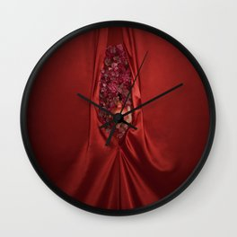 A new earth. The Edenic Fruit of Knowledge Wall Clock