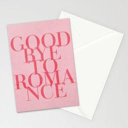 goodbye to romance Stationery Cards