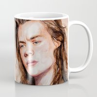 coconutwishes Mugs featuring Harry watercolors III by Coconut Wishes