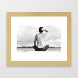 Unaltered. Framed Art Print