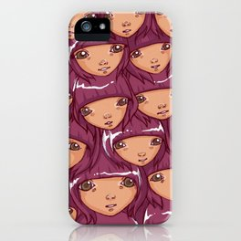 through the grape vine iPhone Case