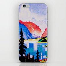 Davos Switzerland - Vintage Travel iPhone & iPod Skin