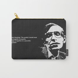 STEPHEN HAWKING - EMPATHY quote Carry-All Pouch