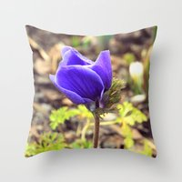 french Throw Pillows featuring French by J's Corner