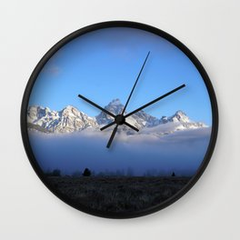 Out of the Mist Wall Clock