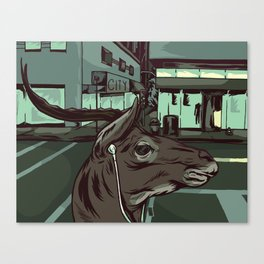 Early Morning Commute Canvas Print