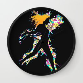 Fresh Out of Water Wall Clock