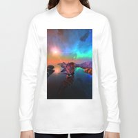 ship Long Sleeve T-shirts featuring Ship  by nicky2342