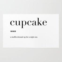 Cupcake definition Rug