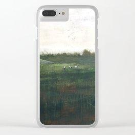 Farm Pasture Clear iPhone Case