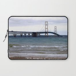 The Mackinac Bridge Laptop Sleeve