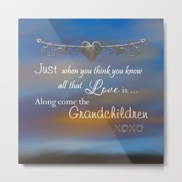 Grandchildren Metal Print