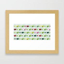 Colourful Caravans Framed Art Print