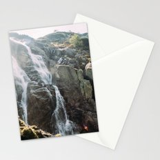 Waterfall In Sunlight Stationery Cards