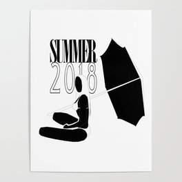 Summer 2018: Limited Time Poster