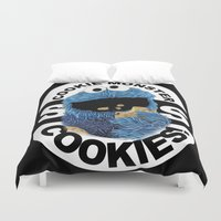 cookies Duvet Covers featuring COOKIES! by SwanniePhotoArt