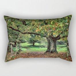 Underneath The Chestnut Tree Rectangular Pillow
