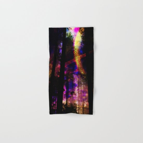 close your eyes and dream with me Hand & Bath Towel